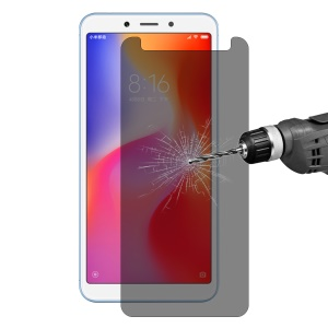 HAT PRINCE 0.26mm 9H 2.5D [Anti-spy Anti-explosion] Tempered Glass Screen Protector for Xiaomi Redmi 6A / 6