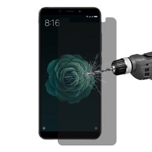 HAT PRINCE for Xiaomi Mi A2 / Mi 6X 0.26mm 9H 2.5D [Anti-peep Anti-explosion] Tempered Glass Screen Guard Film