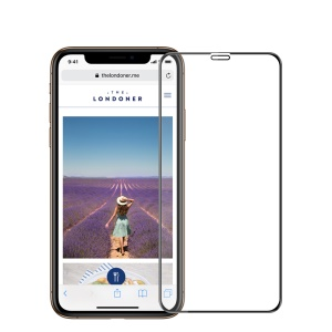MOFI 3D Curved Tempered Glass Complete Covering Screen Guard Film for iPhone XS/X 5.8 inch