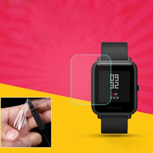 Soft TPU Film [Anti-scratch] [Full Coverage] Screen Protector for Amazfit Bip