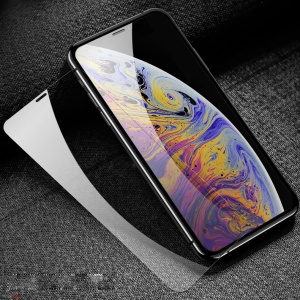 USAMS US-BH455 0.33mm HD Clear Tempered Glass Full Screen Protector 9H Anti-Explosion for iPhone XS Max 6.5 inch