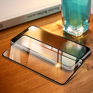 USAMS US-BH457 0.33mm 9D Anti-explosion Tempered Glass Full Coverage Screen Film for iPhone XS Max 6.5 inch