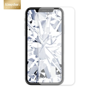 KINGXBAR White Gem Series Tempered Glass Film for iPhone XR 6.1 inch Ultra Clear Anti-explosion Screen Protector