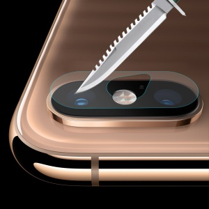 HAT PRINCE Tempered Glass Camera Lens Film for iPhone XS Max 6.5 inch 0.2mm 9H 2.15D Arc Edge Tempered Glass Protector