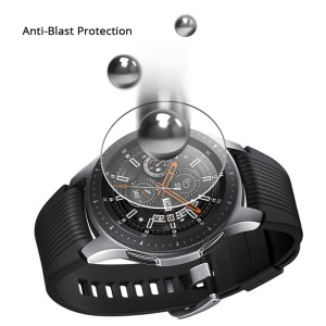 For Samsung Galaxy Watch 46mm 0.3mm Arc Edges Tempered Glass Screen Protector 9H Anti-scratch