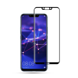MOCOLO 3D Curved Tempered Glass Screen Protector for Huawei Mate 20 Lite/Maimang 7 Full Glue Full Coverage - Black