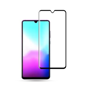 MOCOLO for Huawei Mate 20 3D Curved Full Coverage Tempered Glass Screen Protector - Black