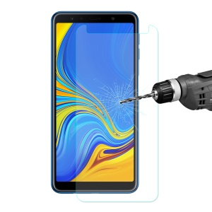 ENKAY 0.26mm 9H 2.5D Arc Edge Tempered Glass Screen Protector Anti-scratch for Samsung Galaxy A7 (2018)