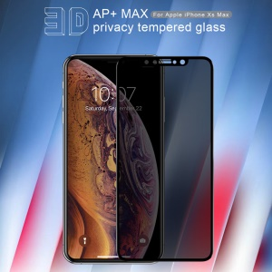 NILLKIN 3D AP+MAX Privacy Tempered Glass for iPhone XS Max 6.5 inch Anti-explosion Full Screen Covering