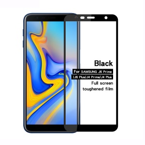 MOFI 2.5D 9H Full Size Tempered Glass Screen Protector for Samsung Galaxy J6+ / J4+ - Black