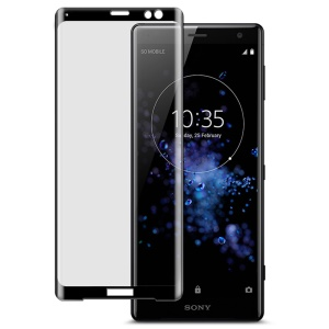 IMAK for Sony Xperia XZ3 3D Curved Tempered Glass Full Covering Screen Protector