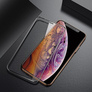 BENKS X Pro+ HD Clear Curved Tempered Glass Protector for for iPhone XS / X 5.8 inch [Anti-explosion] [0.23mm] [Full Screen Covering]