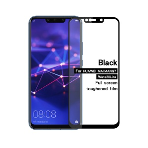 MOFI 2.5D 9H Full Covering Tempered Glass Screen Protector Guard for Huawei Mate 20 Lite / Maimang 7 - Black
