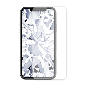 KINGXBAR White Gem Series Tempered Glass Protector [HD Clear] [Anti-explosion] for iPhone 8 / 7 / 6s / 6 4.7 inch