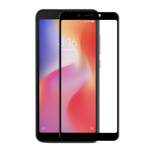 HAT PRINCE for Xiaomi Redmi 6A / Redmi 6 0.26mm 9H Anti-dust 6D Curved Full Size Tempered Glass Screen Protector Film