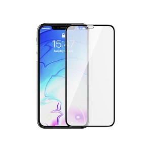 DEVIA Full Coverage Anti-explosion Anti-fingerprint Tempered Glass Screen Protector Film for iPhone XS Max 6.5 inch