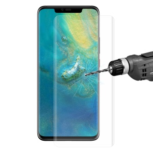 HAT PRINCE  0.26mm for Huawei Mate 20 Pro 3D Full Size Tempered Glass Screen Film - Transparent