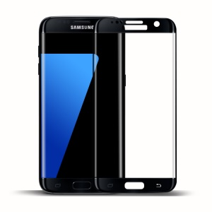 FEMA for Samsung Galaxy S7 edge G935 Full Size Curved Tempered Glass Screen Film - Black