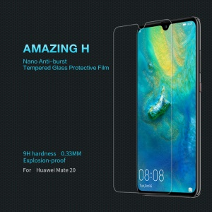 NILLKIN Amazing H Tempered Glass Screen Protective Film Anti-Explosion for Huawei Mate 20
