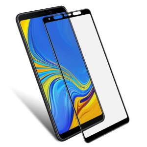 IMAK Pro+ Full Coverage Anti-explosion Tempered Glass Screen Protector for Samsung Galaxy A9 (2018) / A9 Star Pro / A9s