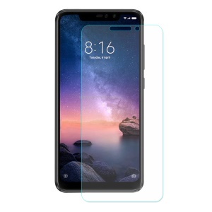 ENKAY 0.26mm 9H 2.5D Arc Edge Tempered Glass Full Screen Protector Anti-scratch for Xiaomi Redmi Note 6 Pro