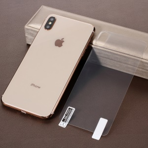 For iPhone XS Max 6.5 inch Full Covering Soft PET Back Film