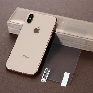 For iPhone XS / X 5.8 inch Soft PET Full Back Covering Protector Film