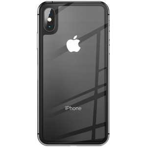 BENKS KR+ PRO for iPhone XS 5.8 inch Soft Edge Tempered Glass Back Cover Guard Film - Black