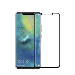 MOFI 3D Curved Tempered Glass Complete Covering Screen Protector for Huawei Mate 20 Pro - Black