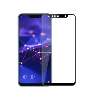 MOFI 3D Curved Tempered Glass Complete Covering Screen Protector for Huawei Mate 20 Lite / Maimang 7 - Black