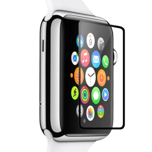 TORRAS Super Slim Silk Print Tempered Glass Screen Protector for Apple Watch 42mm