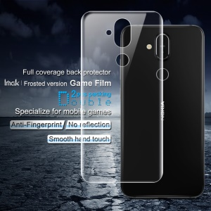 2PCS IMAK [Full Coverage] Frosted Version Game Film Back Protector for Nokia 7.1 Plus / X7