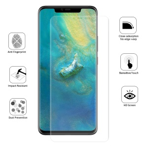 HAT PRINCE 0.1mm Anti-explosion 3D Curved Full Coverage Screen Protector for Huawei Mate 20 Pro
