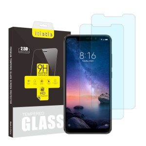 2Pcs/Set ITIETIE 2.5D 9H Tempered Glass Screen Protector for Xiaomi Redmi Note 6 Pro