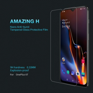 NILLKIN Amazing H 9H 0.3mm Anti-burst Tempered Glass Screen Protector for OnePlus 7 / 6T