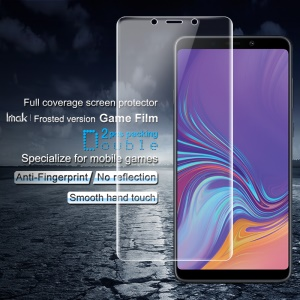 2 STÜCKE IMAK Mattierte Version Spiel Film Anti-fingerprint Full Size Screen Shield Für Samsung Galaxy A9 (2018) / A9 Sterne Pro / A9s