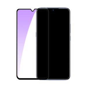 BASEUS Anti-blue-ray Full Size 0.3mm Arc Edge Tempered Glass Screen Protector for Vivo X23 - Black