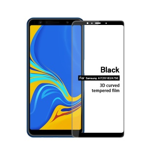 MOFI 3D Curved Tempered Glass Complete Covering Screen Guard Film for Samsung Galaxy A7 (2018) A750