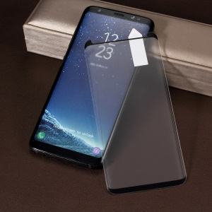 RURIHAI 3D Curved Tempered Glass Screen Protection Film for Samsung Galaxy S8 G950 (Case Friendly)