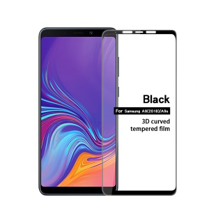 MOFI 3D Curved Tempered Glass Complete Covering Screen Guard Film for Samsung Galaxy A9 (2018) / A9 Star Pro / A9s