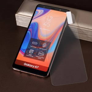 0.25mm 2.5D 9H Tempered Glass Screen Shield Film for Samsung Galaxy A7 (2018)