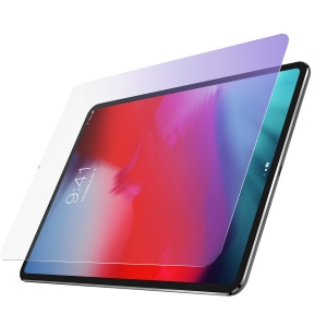 For iPad Pro 12.9-inch (2018) Anti-Blue-Light [Eye-Protect] Tempered Glass Screen Protector Full Screen 0.3mm (Arc Edge)