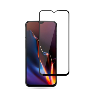 MOCOLO for OnePlus 6T 5D Arc Edge Full Coverage Tempered Glass Screen Protector - Black