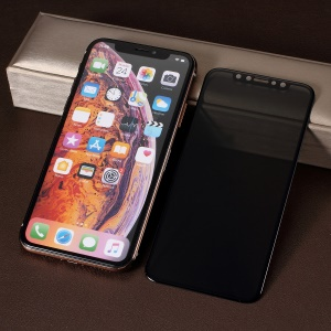 PDGD 0.3mm Privacy Protection 3D Full Size Tempered Glass Screen Protector for iPhone (2019) 5.8 inch / XS / X 5.8 inch - Black