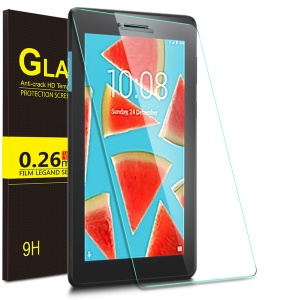 IVSO 0.26mm 9H Tempered Glass Full Screen Protector Explosion-proof for Lenovo Tab E7