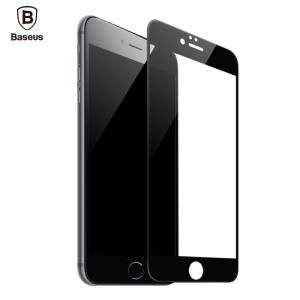 BASEUS 3D Curved Soft PET Full Glue Full Screen Tempered Glass Protector Film for iPhone 6s/6 - Black