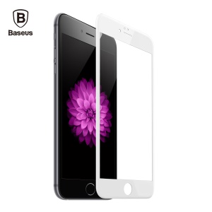 BASEUS 3D Curved Soft PET Full Screen Tempered Glass Protector Guard Film for iPhone 6s/6 - White
