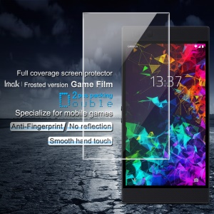 2PCS IMAK Frosted Version Game Film Hydrogel Full Coverage Screen Protector for Razer Phone 2