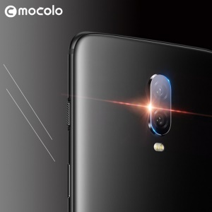 MOCOLO 1PC Tempered Glass Camera Lens Protector [Ultra Clear] for OnePlus 6T