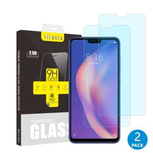 2Pcs/Set ITIETIE 2.5D 9H Tempered Glass Screen Protector Film for Xiaomi Mi 8 Lite/Mi 8 Youth (Mi 8X)